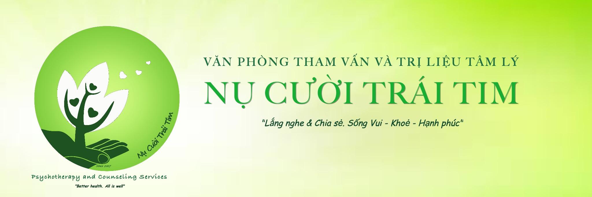 Văn phòng Tham vấn và Trị liệu Tâm lý NỤ CƯỜI TRÁI TIM